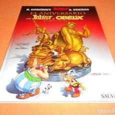 Cómics: EL ANIVERSARIO DE ASTERIX Y OBELIX. EL LIBRO DE ORO, DE UDERZO (EDITORIAL SALVAT). IMPECABLE.. Lote 115831255