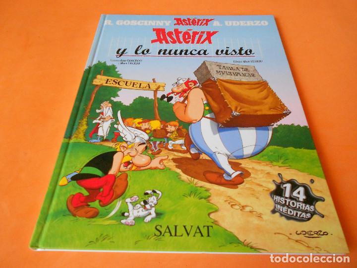 ASTERIX Y LO NUNCA VISTO - SALVAT (2014). TAPA DURA. IMPECABLE (Tebeos y Comics - Comics otras Editoriales Actuales)