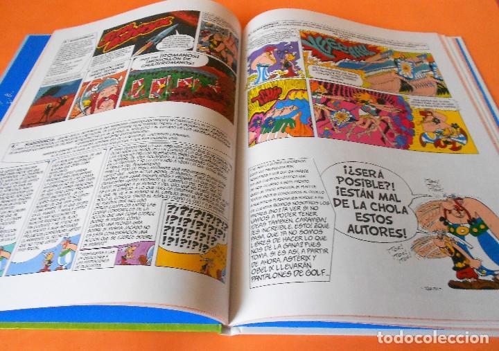 Cómics: Asterix y lo nunca visto - Salvat (2014). Tapa dura. Impecable - Foto 3 - 115832355