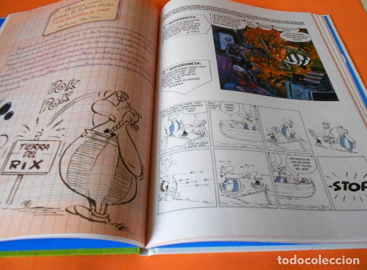 Cómics: Asterix y lo nunca visto - Salvat (2014). Tapa dura. Impecable - Foto 5 - 115832355