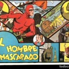 Cómics: FACSIMIL: EL HOMBRE ENMASCARADO (THE PHANTOM) NUMERO 01: EL HOMBRE ENMASCARADO. Lote 116209288