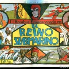 Cómics: FACSIMIL: EL HOMBRE ENMASCARADO (THE PHANTOM) NUMERO 03: EL REINO SUBMARINO. Lote 116209435