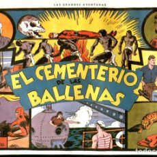 Cómics: FACSIMIL: EL HOMBRE ENMASCARADO (THE PHANTOM) NUMERO 04: EL CEMENTERIO DE LAS BALLENAS. Lote 116209524