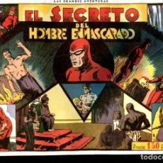 Cómics: FACSIMIL: EL HOMBRE ENMASCARADO (THE PHANTOM) NUMERO 05: EL SECRETO DEL HOMBRE ENMASCARADO. Lote 116209590