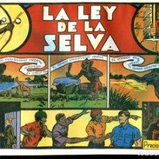 Cómics: FACSIMIL: EL HOMBRE ENMASCARADO (THE PHANTOM) NUMERO 06: LA LEY DE LA SELVA. Lote 116209788