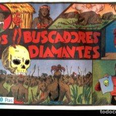 Cómics: FACSIMIL: EL HOMBRE ENMASCARADO (THE PHANTOM) NUMERO 08: LOS BUSCADORES DE DIAMANTES. Lote 116209806
