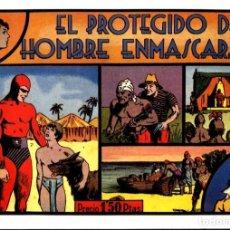 Cómics: FACSIMIL: EL HOMBRE ENMASCARADO (THE PHANTOM) NUMERO 10: EL PROTEGIDO DEL HOMBRE ENMASCARADO. Lote 116209848