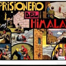 Cómics: FACSIMIL: EL HOMBRE ENMASCARADO (THE PHANTOM) NUMERO 13: EL PRISIONERO DEL HIMALAYA (TRASERA CRO.... Lote 116209886