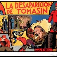 Cómics: FACSIMIL: EL HOMBRE ENMASCARADO (THE PHANTOM) NUMERO 14: LA DESAPARICION DE TOMASIN (TRASERA CRO.... Lote 116209912