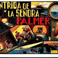 Cómics: FACSIMIL: EL HOMBRE ENMASCARADO (THE PHANTOM) NUMERO 15: LA INTRIGA DE LA SEÑORA PALMER (TRASERA.... Lote 116209916