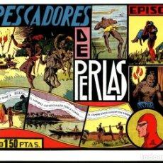 Cómics: FACSIMIL: EL HOMBRE ENMASCARADO (THE PHANTOM) NUMERO 18: LOS PESCADORES DE PERLAS (TRASERA LECCI.... Lote 116209963