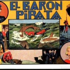 Cómics: FACSIMIL: EL HOMBRE ENMASCARADO (THE PHANTOM) NUMERO 16: EL BARON PIRATA (TRASERA CROMOS DEPORTES). Lote 116209967