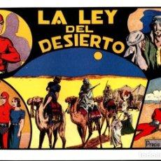 Cómics: FACSIMIL: EL HOMBRE ENMASCARADO (THE PHANTOM) NUMERO 19: LA LEY DEL DESIERTO (TRASERA LECCIONES .... Lote 116209991