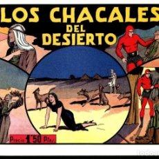 Cómics: FACSIMIL: EL HOMBRE ENMASCARADO (THE PHANTOM) NUMERO 20: LOS CHACALES DEL DESIERTO (TRASERA LECC.... Lote 116209994