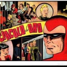 Cómics: FACSIMIL: EL HOMBRE ENMASCARADO (THE PHANTOM) NUMERO 24: EL FIN DEL CIRCULO DE ORO (TRASERA GALE.... Lote 116210040