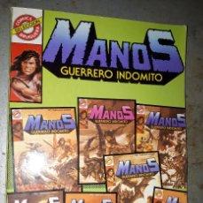 Cómics: CÓMIC MANOS GUERRERO INDOMITO, 'MANOS SELECCIÓN Nº 1'. Lote 50903703