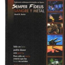 Cómics: SANGRE Y METAL. Lote 116519067