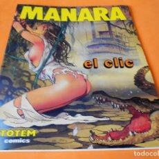 Cómics: EL CLIC / MANARA / TOTEM COMICS / EDITORIAL NEW COMIC 1988. ESTADO NORMAL.. Lote 116602675