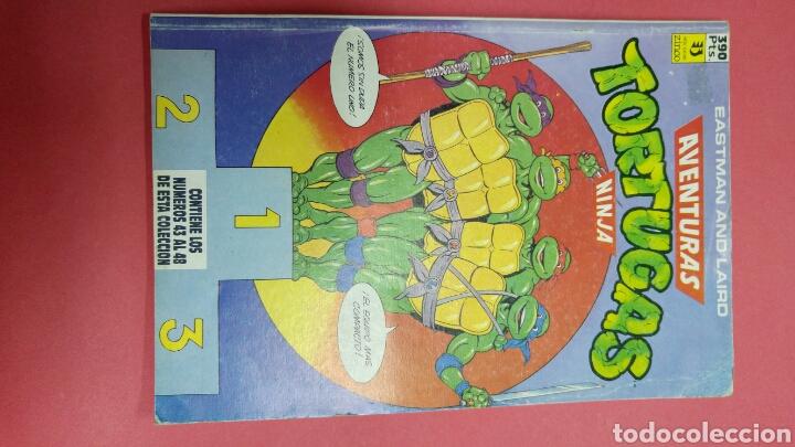 COMIC AVENTURAS TORTUGAS NINJA. EASTMAN AND LAIRD 1991 NUEVO (Tebeos y Comics Pendientes de Clasificar)