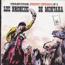 Cómics: JERRY SPRING- Nº 1- LOS BRONCOS DE MONTANA - GRAN JIJÉ- 1982- ESCASO-DIFÍCIL-BUENO-LEAN- 8333. Lote 116689919