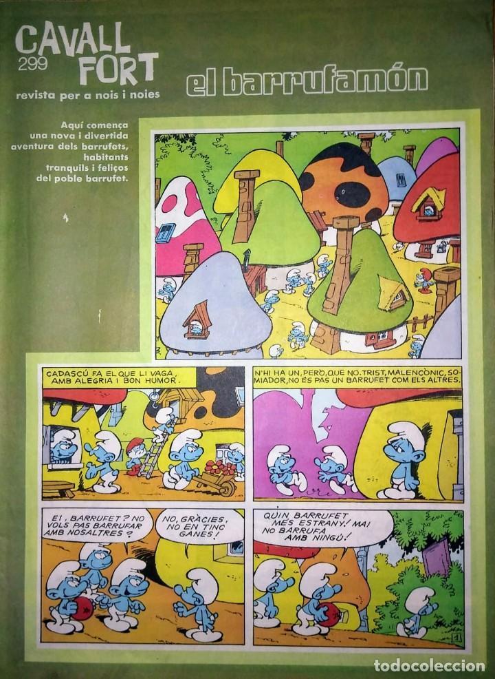 CAVALL FORT Nº 299 - REVISTA PER A NOIS I NOIES - COMIC CATALÀ (Tebeos y Comics Pendientes de Clasificar)