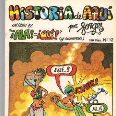 Cómics: HISTORIA DE AQUÍ. FORGES. Nº 12. ALÁ = OLÉ. LIBROS Y PUBLICACIONES PERIODICAS (ST/). Lote 116882899