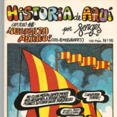 Cómics: HISTORIA DE AQUÍ. FORGES. Nº 16. DESPERTA FERRO. LIBROS Y PUBLICACIONES PERIODICAS (ST/). Lote 116883127