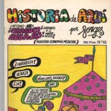 Cómics: HISTORIA DE AQUÍ. FORGES. Nº 18. GRANDES REBAJAS. LIBROS Y PUBLICACIONES PERIODICAS (ST/). Lote 116883215