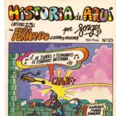 Cómics: HISTORIA DE AQUÍ. FORGES. Nº 23. COMO FERNANDO. . LIBROS Y PUBLICACIONES PERIODICAS (ST/). Lote 116883531