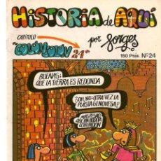 Cómics: HISTORIA DE AQUÍ. FORGES. Nº 24. COLÓN. LIBROS Y PUBLICACIONES PERIODICAS (ST/). Lote 116883567