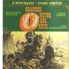 Cómics: GRANDES MITOS DEL ESTE J.TOUTAIN JOSE ORTIZ. Lote 116920791