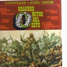 Cómics: GRANDES MITOS DEL ESTE J.TOUTAIN JOSE ORTIZ. Lote 116920895
