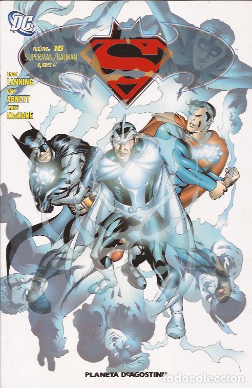 COMIC- SUPERMAN BATMAN Nº 16 DC COMICS PLANETA (Tebeos y Comics Pendientes de Clasificar)