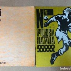 Cómics: FUERA DE BANDA N° 1 Y 2 BARCELONA, 1982. HISTÓRICO FANZINE ORIGINAL - ROGER,FLOTATS,CIFRÉ,RODÉS,SOLÉ. Lote 117034239