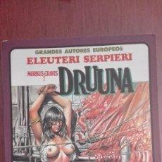 Cómics: DRUUNA SERPIERI TOUTAIN COMIC EROTICO AÑOS 80. Lote 117198899