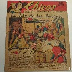 Cómics: CHICOS. LA ISLA DE LOS VOLCANES AÑO IV Nº 178. 1941 SAN SEBASTIAN. TALLERES OFFSET. Lote 117215939