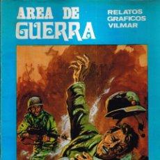 Cómics: AREA DE GUERRA. Nº9 RELATOS GRAFICOS VILMAR. 1981. Lote 117465679