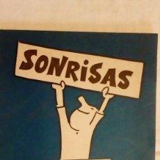 Cómics: RARO Y DIFICIL - LIBRITO CON DIBUJOS DE MUNTAÑOLA - SONRISAS DANONE. Lote 117672727