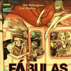 Cómics: FABULAS -3 LIBROS NORMA COMICS, 14 LIBROS PLANETA DEAGOSTINI Y 1 LIBRO ECC (VER DESCRIPCIÓN). Lote 117679695