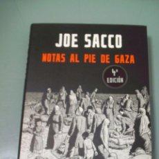Cómics: NOTAS AL PIE DE GAZA - JOE SACCO.. Lote 117774895
