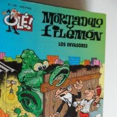 Cómics: MORTADELO Y FILEMON Nº 69 LOS INVASORES . Lote 117781195