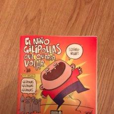 Cómics: EL NIÑO GILIPOLLAS QUE QUERÍA VOLAR. BATRACIO AMARILLO. Lote 117782163