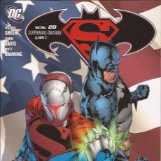 Cómics: COMIC-SUPERMAN BATMAN Nº 20 DC COMICS PLANETA. Lote 117901299