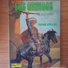 Cómics: LOS GRINGOS 2 VIVA VILLA. CHARLIE, VICTOR DE LA FUENTE. GRIJALBO JUNIOR 1981 TAPA DURA. Lote 117973679