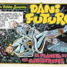 Cómics: DANI FUTURO Nº 12 - EL PLANETA DE LAS CATÁSTROFES. Lote 118039659