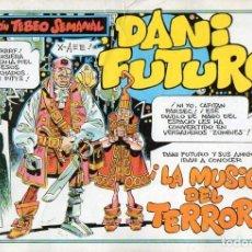 Cómics: DANI FUTURO Nº 9 - LA MÚSICA DEL TERROR. Lote 118039679