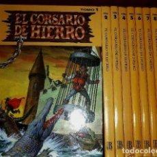 Cómics: EL CORSARIO DE HIERRO :COLECCION COMPLETA EN 9 TOMOS - EDICION HISTORICA -. Lote 118090551