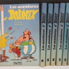 Cómics: LES AVENTURES D´ASTERIX 7 TOMOS DE LUJO CATALA CATALAN EDICIONES JUNIOR - GRIJALBO. Lote 118247183