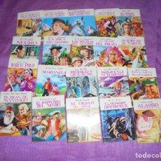 Cómics: 20 TITULOS DE LA COLECCION : MINIBIBLIOTECA DE LA LITERATURA UNIVERSAL. GARCIA FERRE, 1983.PETETE. Lote 118250907