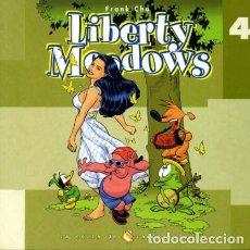Cómics: LIBERTY MEADOWS Nº 4 (FRANK CHO) - LA COLLA DE LA PESSIGOLLA - MUY BUEN ESTADO - OFM15. Lote 118284927